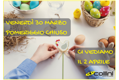 EASTER 2018 CLOSING