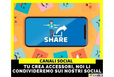 Crea i tuoi accessori: li condivideremo sui nostri social