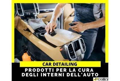 Car detailing: prodotti per la cura degli interni dell'auto