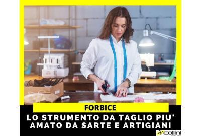 Forbice: lo strumento da taglio più amato da sarte e artigiani