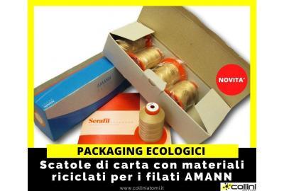 Imballaggi ecologici per i filati AMANN