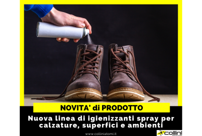 Igienizzanti spray per calzature