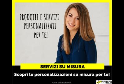 Personalizzazioni e servizi su misura