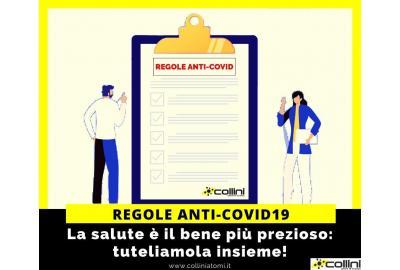 Regole e comportamenti anti-Coronavirus all'interno della nostra azienda