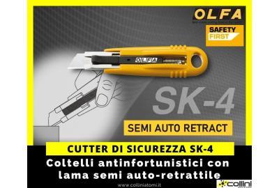 Cutter di sicurezza OLFA SK-4
