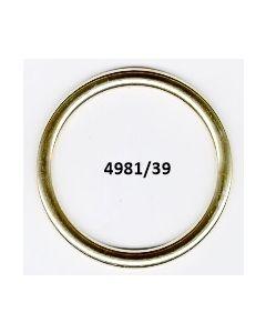 Anelli chiusi medi 39 mm (art. 4981)