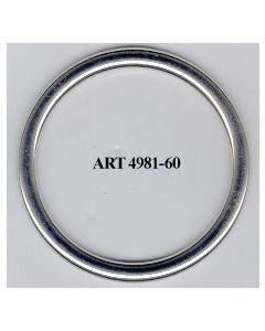 Anello chiuso ø 60 mm art. 4981/60
