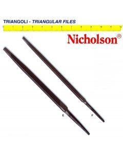 Triangoli Nicholson ® per affilare lamette tipo slim e regular