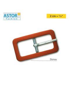 Fibbia ricoperta Astor ® mod. DONAU 20 mm