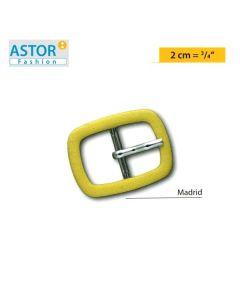 Fibbia ricoperta Astor ® mod. MADRID 20 mm