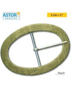 Fibbia ricoperta Astor ® mod. NAPOLI 50 mm