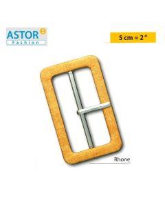 Fibbia ricoperta Astor ® art. RHONE 50 mm