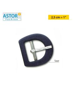 Fibbia ricoperta Astor ® art. SAAR 25 mm