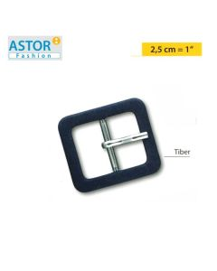 Fibbia ricoperta Astor ® TIBER 25 mm