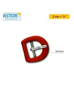 Fibbia ricoperta Astor ® mod. SOMME 20 mm
