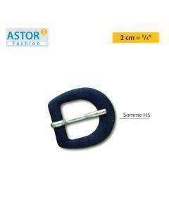 Fibbia ricoperta Astor ® mod. SOMME HS 20 mm