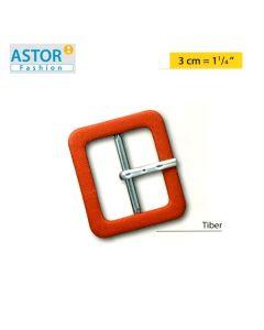 Fibbia ricoperta Astor ® mod. TIBER 30 mm