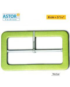 Fibbia ricoperta Astor ® mod. NECKAR 80 mm