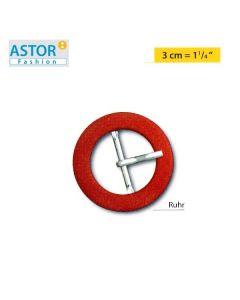 Fibbia ricoperta Astor ® mod. RUHR (RITA) 30 mm