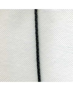 Twisted leather cord art. 4x2 - height: 0.5 (Ø 3 mm)