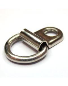 Attacco con foro e anello snodato art. A/2191