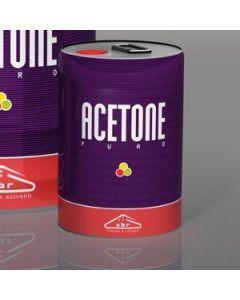 Acetone puro in latta da 5 litri