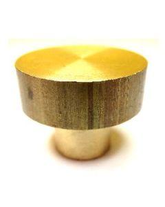 base ottone per torchietto o pinza torchio a pistone