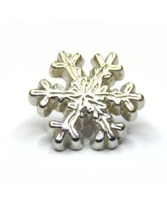 Snowflake shaped studs with rivet art. BC5089