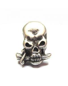 Skull and dagger shaped seal rivet C/6579