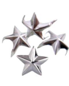 Borchie STELLINA con alette (confezione da 50 pezzi)