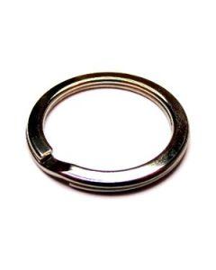 anello portachiavi in acciaio a molla art. C4208 con diamentro interno 25 mm