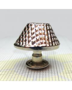 Cantilevered truncated cone shaped with rivet diameter 14 mm C/6098