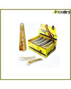 Calzascarpe in plastica DASY SIMIL-CORNO cm 15 (scatola da 100 pz)