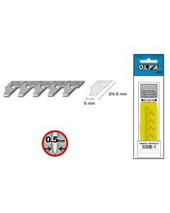 Lamette di ricambio OLFA ® COB-1 (confezione da 15 pezzi)