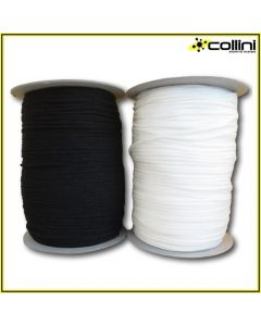 Cordino elastico in cotone ø 3,5 mm art. 9164 (300 m)