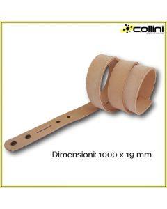 Cintura in cuoio pretagliata 1000X19 mm