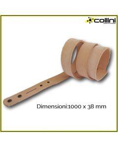 Cintura in cuoio pretagliata 1000X38 mm