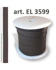 la fettuccia elastica art. 3599 in altezza 8 mm e colore Testa di Moro
