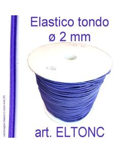 Elastico tondo ø 2 mm art. ELTONC