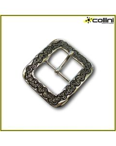 Double buckle with prong F2866 - 40 mm