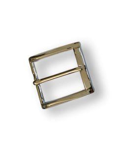 Buckel for belt 40 mm wide pitch in solid brass SB23