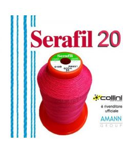 SERAFIL polyester thread - ticket 20 (600-metre cone)