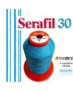SERAFIL polyester thread - ticket 30 (900-metre cone)
