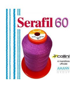 SERAFIL polyester thread - ticket 60 (1,800-metre cone)
