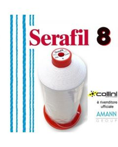 SERAFIL polyester thread - ticket 8 (850 metre cone)