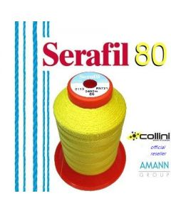 SERAFIL polyester thread - ticket 80 (2,400-metre cone)