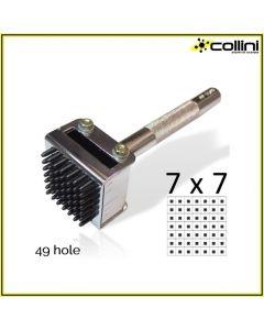 49-Hole Hammering Die