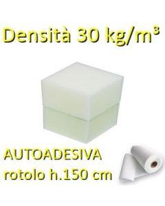 Gommapiuma AUTOADESIVA 30 Kg/m3 (rotolo h.150 cm)