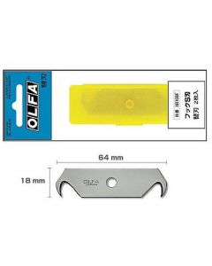 OLFA HOB-2 blades double hook (2 blades/package)