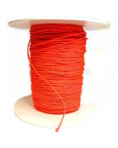 laccio per catenine in cotone cerato - ROSA SHOCKING FLUORESCENTE